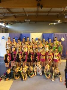 Les gymnastes de Chevreuse